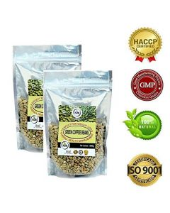 N2B A++ Grade Green Coffee beans 500g (Pack of 2)