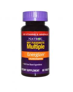 Natrol My Favourite Multi Energizer - 60Tabs
