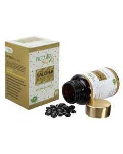 Nature Sure Premium Kalonji Tablets for Men and Women (extracted from Black Seed/ Nigella sativa seeds) – 1 Pack (90 Tablets)