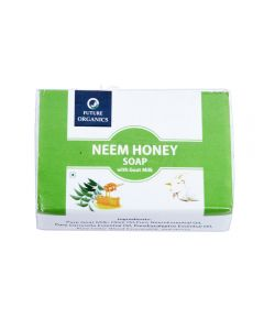 Future Organics Neem Honey with Goat milk Bathing Soap - 100 gm
