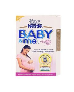 Nestle Baby & Me Maternal Nutritional Supplement Vanilla 400gm