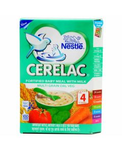 Nestle Cerelac-Multi Grain Dal Veg (Stage 4) 300gm