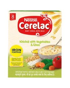 Nestle Cerelac -Kichdi with Vegetables & Ghee for 8 months & above, 300gm