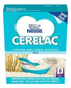 Nestle Cerelac Rice (Stage 1) 300gm