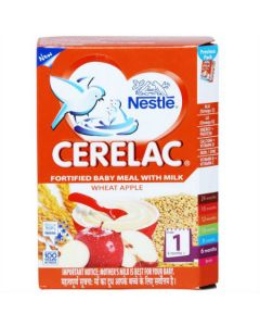 Nestle Cerelac Wheat Apple (Stage 1) 300gm
