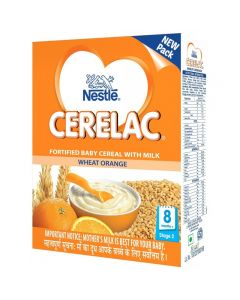 Nestle Cerelac Wheat Orange (Stage 2) 300gm
