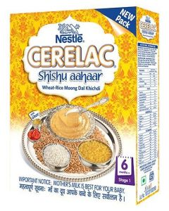 Nestle Cerelac Wheat Rice Moong Dal Khichadi (Stage 1) 300gm