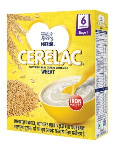 Nestle Cerelac Wheat (Stage 1) 300gm