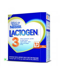 Nestle Lactogen Follow Up Formula (Stage 3) 400gm