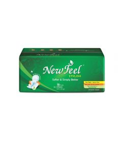 Newfeel 275mm Maxi Stylish Sanitary Napkin XL-Size 48 Pads (3 Pack Of 16 Pcs)