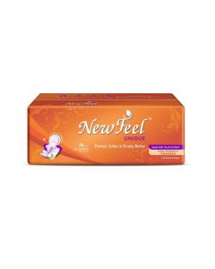 Newfeel 275mm Ultrathin Unique Sanitary Napkin XL-Size 60 Pads (2 Pack Of 30 Pcs)
