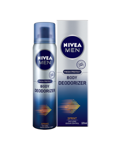 Nivea Men Body Deodorizer-Sprint 120ml