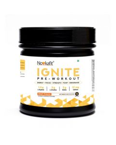 Novkafit Ignite Pre-Workout - 200 g (0.44 lb) 16 Servings (Fruit Punch Flavour)