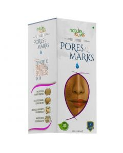 Nature Sure Pores and Marks Oil for Enlarged Pores and Stretch Marks in Men and Women - 1 Pack (100ml)