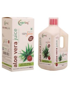 Nutriorg Aloe Vera Juice 1000ml