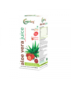 Nutriorg Aloe Vera Strawbarry Juice 500ml