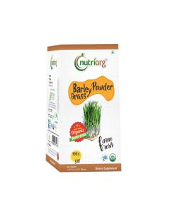 Nutriorg  Barley Grass Powder 100gms