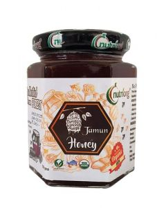 Nutriorg Certified Organic Honey with Jamun Flavor 250g