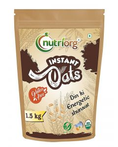 Nutriorg Certified Organic Instant Oats 1.5 kg