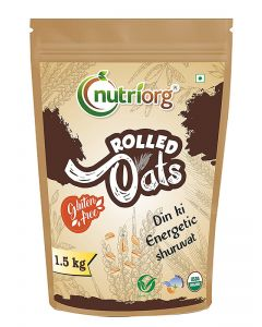 Nutriorg Certified Organic Rolled Oats 1.5 kg