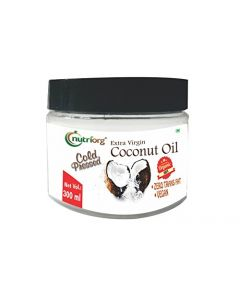 Nutriorg Extra Vargin Coconut Oil  Certified Organic 360 ml