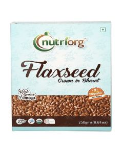 Nutriorg  Flaxseed 250gms