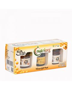 Nutriorg Honey gift pack 150g