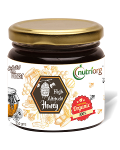 Nutriorg Honey Organic Certified 250g