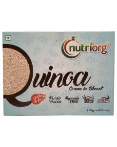 Nutriorg Quinoa Grown In Bharat 250gms