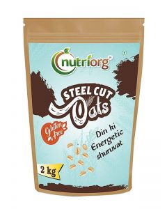 Nutriorg Raw Steelcut Oats 2 kg