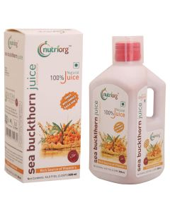 Nutriorg Sea Buckthorn Juice 500ml