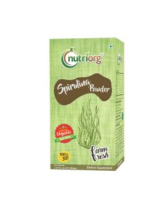 Nutriorg Sprilunia Powder 100gms