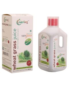 Nutriorg Wheat Grass Juice 500ml