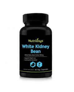 Nutriosys White Kidney Bean Extract - 500mg (90 Veg Capsules)