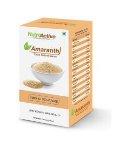 NutroActive Amaranth Whole Natural Grains Amaranth 340 gm