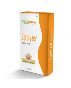 NutroActive Lipolyzer Tummy Fat Burner (30 Tablets)