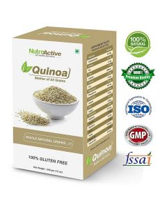 NutroActive Quinoa Whole White Natural Grains Gluten Free 340 gm