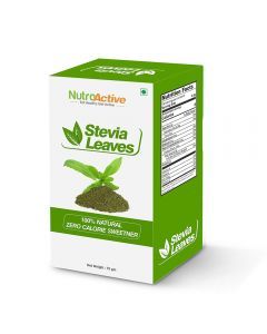 NutroActive STEVIA Leaves (Natural Sweetner) 75 gm