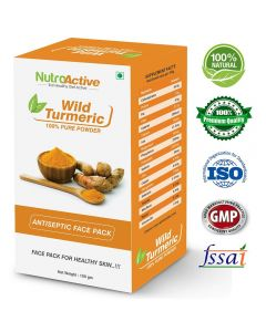 NutroActive Wild Turmeric Face Pack Powder 100 Gm
