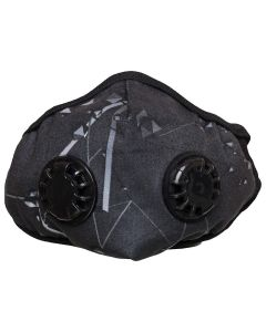 O2+ Stone Reusable Anti Pollution Mask With N99 Active Carbon Grade Filter - Medium
