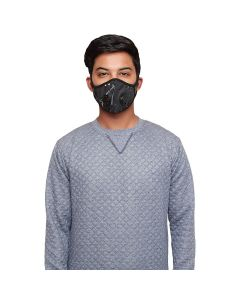 O2+ Stone Reusable Anti Pollution Mask With N99 Active Carbon Grade Filter - Large