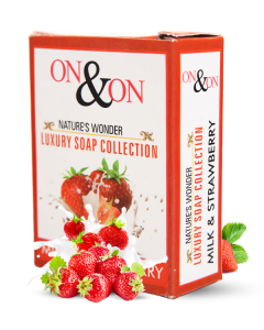On  On Strawberry Soap Set of 5 pc