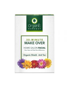 Organic Harvest 30 Minute Make Over Organic Shield Anti Tan Facial Kit 50g