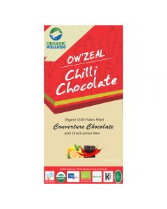 Organic Wellness Chilli Chocolate 42.5 gm