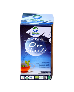 Organic Wellness Real Om Shanti Tea 25 tea bag