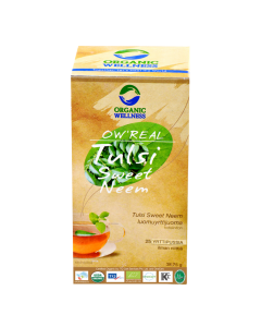 Organic Wellness Real Sweet Neem Tea 25 tea bag