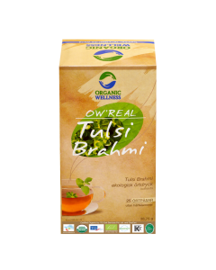 Organic Wellness Real Tulsi Brahmi Tea 25 tea bag