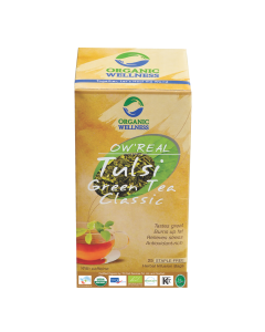 Organic Wellness Real Tulsi Green Tea Classic  25 tea bag