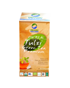 Organic Wellness Real Tulsi Green Tea Premium 25 tea bag