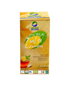 Organic Wellness Real Tulsi Lemon Tea 25 tea bag